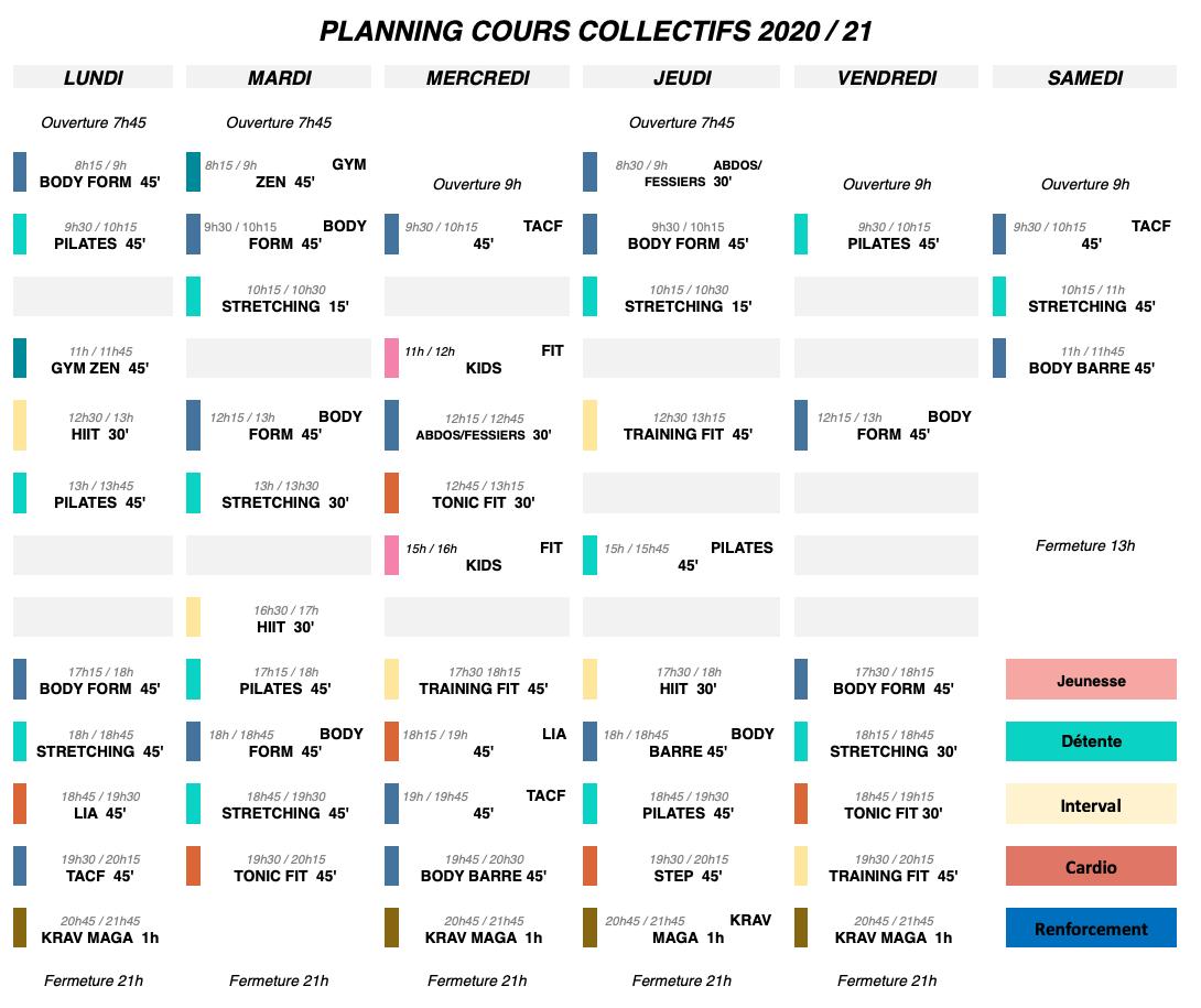 Planning 2020/2021